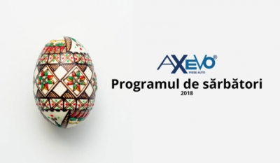 Programul de Paști 2018
