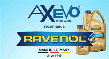 AXEVO recomanda uleiurile Ravenol