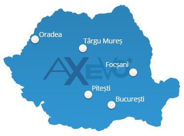 Harta punctelor de lucru AXEVO