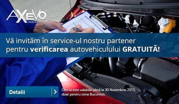 Verificare autovehicul gratuită
